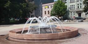 Siemianowice fontanna